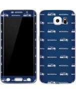 Seattle Seahawks Blitz Series Galaxy S6 Edge Skin