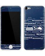 Seattle Seahawks Blue Blast Apple iPod Skin