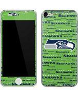 Seattle Seahawks Green Blast Apple iPod Skin