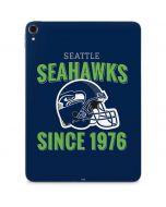 Seattle Seahawks Helmet Apple iPad Pro Skin