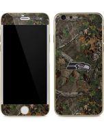 Seattle Seahawks Realtree Xtra Green Camo iPhone 6/6s Skin