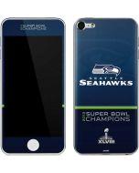 Seattle Seahawks Super Bowl XLVIII Apple iPod Skin
