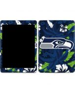 Seattle Seahawks Tropical Print Apple iPad Skin
