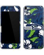 Seattle Seahawks Tropical Print Apple iPod Skin