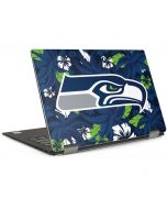 Seattle Seahawks Tropical Print Dell XPS Skin
