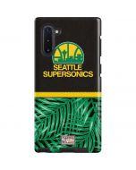 Seattle SuperSonics Retro Palms Galaxy Note 10 Pro Case