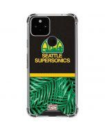 Seattle SuperSonics Retro Palms Google Pixel 5 Clear Case