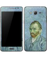 Van Gogh Self-portrait Galaxy Grand Prime Skin