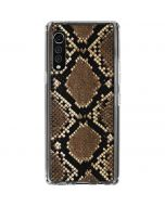 Serpent LG Velvet Clear Case