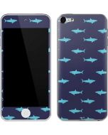 Shark Print Apple iPod Skin