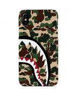 Shark Teeth Street Camo iPhone XS Max Lite Case