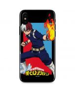 Shoto Todoroki iPhone X Skin
