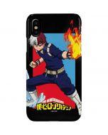 Shoto Todoroki iPhone XS Lite Case