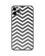 Silver Chevron iPhone 11 Pro Max Skin