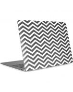 Silver Chevron Apple MacBook Air Skin