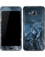 Silver Dragon Galaxy J3 Skin