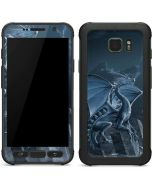 Silver Dragon Galaxy S7 Active Skin