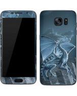 Silver Dragon Galaxy S7 Skin