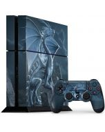 Silver Dragon PS4 Console and Controller Bundle Skin