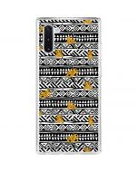 Simba Tribal Print Galaxy Note 10 Clear Case