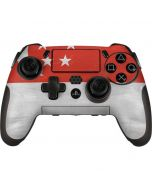 Singapore Flag Distressed PlayStation Scuf Vantage 2 Controller Skin
