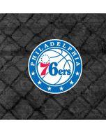 Philadelphia 76ers Black Rust iPhone X Waterproof Case