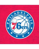 Philadelphia 76ers Red Distressed iPhone X Waterproof Case