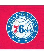 Philadelphia 76ers Red Distressed Apple MacBook Air Skin