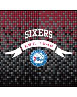 Philadelphia 76ers Pixels iPhone X Waterproof Case
