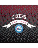 Philadelphia 76ers Pixels Amazon Echo Skin