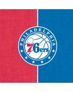 Philadelphia 76ers Canvas Split iPhone 6/6s Skin