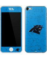 Carolina Panthers Distressed Alternate Apple iPod Skin