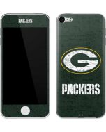 Green Bay Packers Distressed Apple iPod Skin