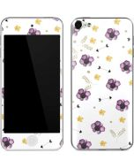 Flowers and Arrows Apple iPod Skin