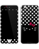 Hello Kitty Black Apple iPod Skin