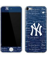 New York Yankees - Cap Logo Blast Apple iPod Skin