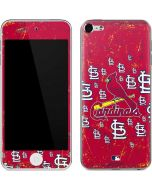 St. Louis Cardinals - Primary Logo Blast Apple iPod Skin