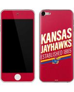 Kansas Jayhawks Established 1865 Apple iPod Skin