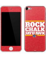 Kansas Rock Chalk Jayhawk Apple iPod Skin