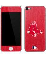 Boston Red Sox Monotone Apple iPod Skin