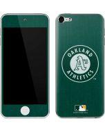 Oakland Athletics Monotone Apple iPod Skin