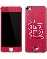 St Louis Cardinals Monotone Apple iPod Skin