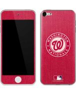 Washington Nationals Monotone Apple iPod Skin