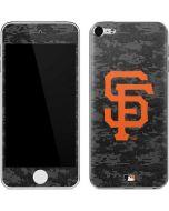 San Francisco Giants Digi Camo Apple iPod Skin