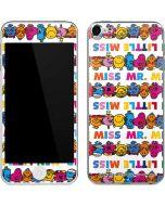 Mr Men Little Miss Characters Bold Apple iPod Skin