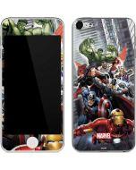 Avengers Team Power Up Apple iPod Skin
