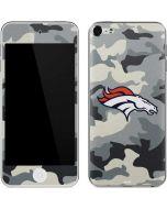Denver Broncos Camo Apple iPod Skin