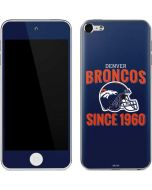 Denver Broncos Helmet Apple iPod Skin
