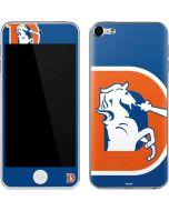Denver Broncos Retro Logo Apple iPod Skin
