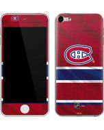 Montreal Canadiens Home Jersey Apple iPod Skin